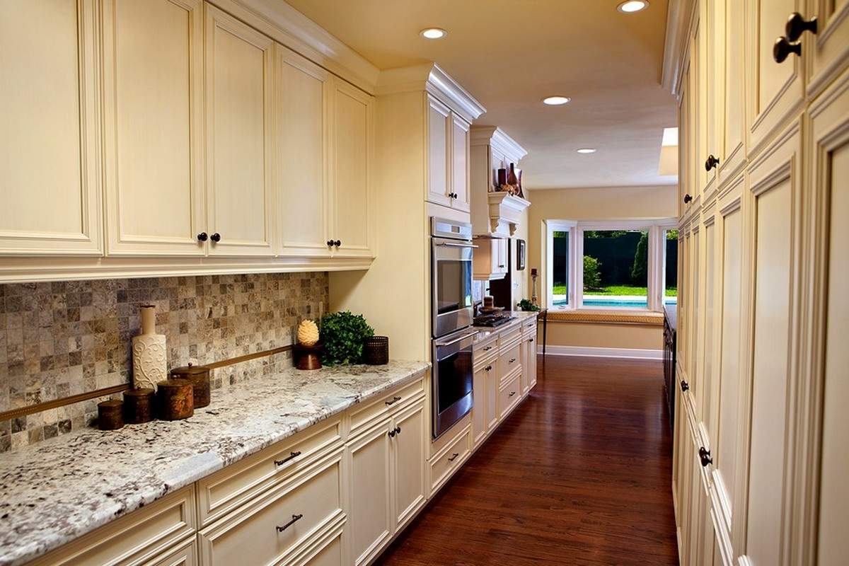 Orlando, Traditional Black and White Kitchen After 1