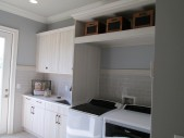Windermere, Glossy Woodgrain Laundry Room